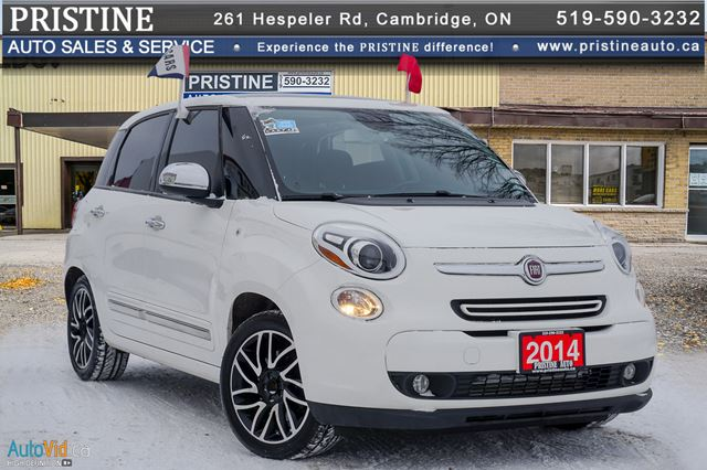 2014 FIAT 500L Lounge 1 Owner Accident Free Leather Winter Tires & Rims in Cambridge, Ontario