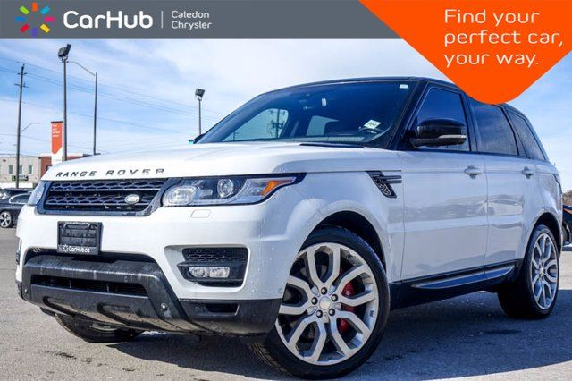 2014 Land Rover Range Rover Sport V8 Supercharged 4x4 Navi Pano Sunroof Bluetooth Heated Front &Rear Seats 20Alloy in