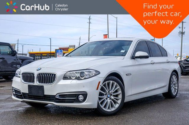 2014 BMW 5 Series 528i xDrive Navi Sunroof Bluetooth Leather Heated front Seats 18Alloy Rims in