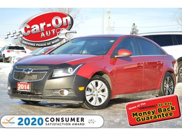 2014 CHEVROLET Cruze 1LT SUNROOF REAR CAM BLUETOOTH LOADED in Ottawa, Ontario