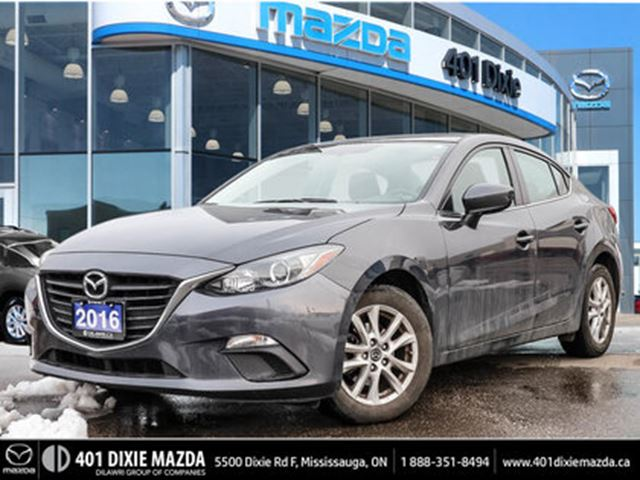 2016 MAZDA MAZDA3 GS  NO ACCIDENTS ONE OWNER 1.99% FINANCING in Mississauga, Ontario