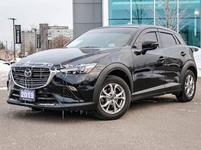 2019 MAZDA CX-3 GS  ONE OWNER SPORT MODE SUNROOF in Mississauga, Ontario