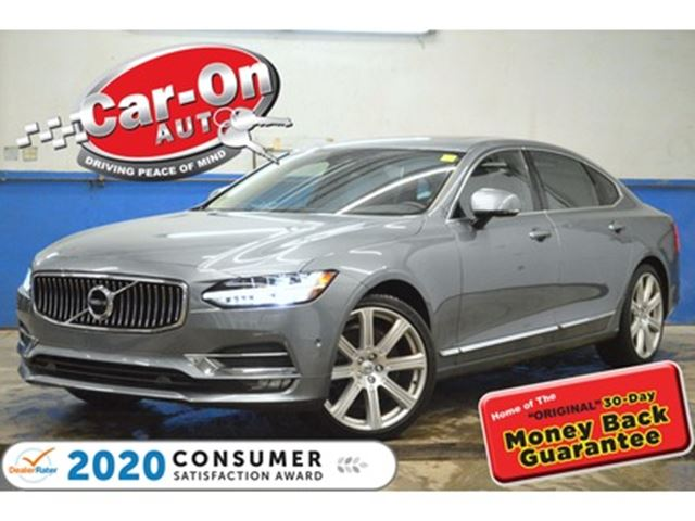 2018 VOLVO S90 T6 Inscription AWD TWIN CHARGER 15,000 KM NAV PANO in Ottawa, Ontario