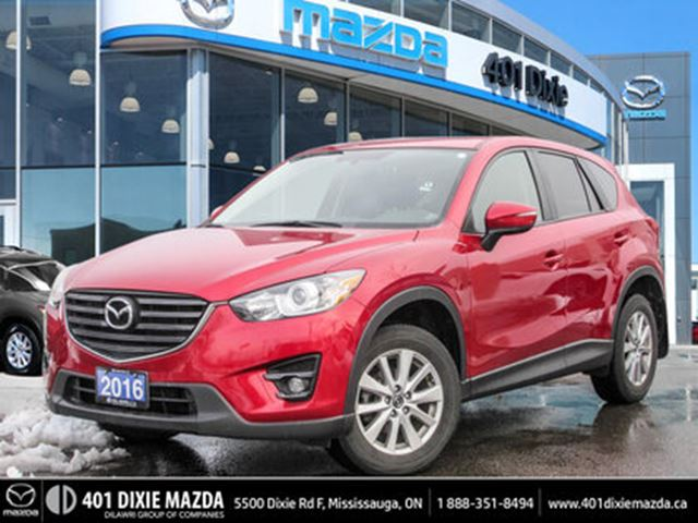 2016 MAZDA CX-5 GS  ONE OWNER LEATHER SUNROOF in Mississauga, Ontario