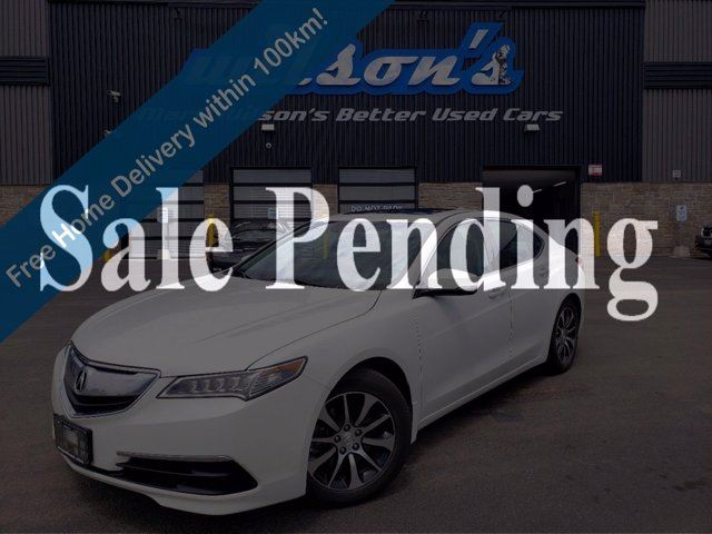 2017 ACURA TLX Tech! Leather, Navigation, Sunroof, Heated Seats, Rear Camera, Power Seat, Bluetooth and more! in Guelph, Ontario