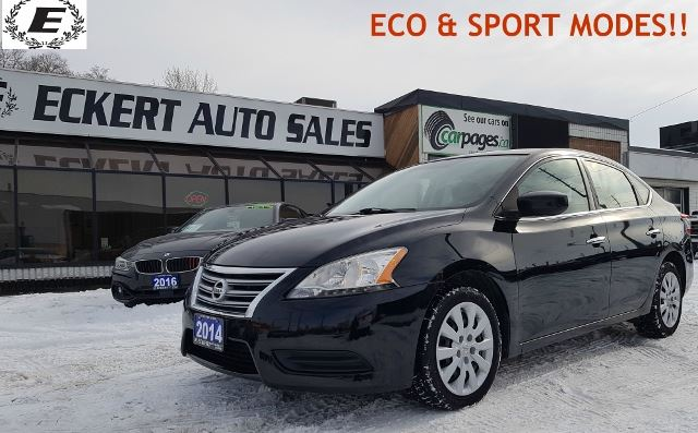 2014 NISSAN Sentra S WITH ECO & SPORT MODE!! in Barrie, Ontario