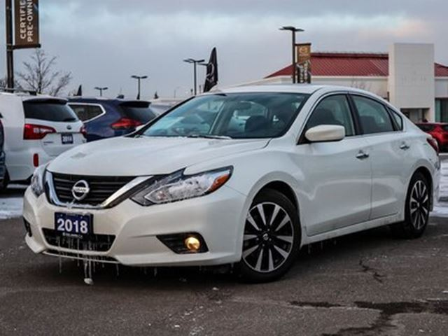 2018 NISSAN Altima 2.5 SV  ONE OWNER HEATED SEATS SUNROOF in Mississauga, Ontario