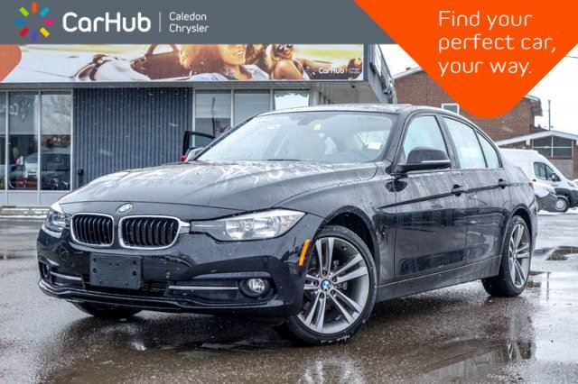 2016 BMW 3 Series 320i xDrive Navi Backup Cam Bluetooth Heated Front Seats Pwr Windows Pwr Locks 17Rims in