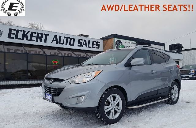 2012 HYUNDAI Tucson GLS WITH HEATED LEATHER SEATS/ALL WHEEL DRIVE!! in Barrie, Ontario