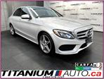 2016 Mercedes-Benz C-Class AMG PKG+4Matic+GPS+Camera+Pano Roof+Blind Spot+ in London, Ontario