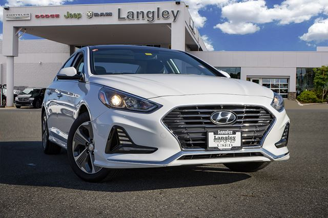 2018 Hyundai Sonata Limited  Hybrid / Leather / Best in Class Mileage / Flush with Technologies in