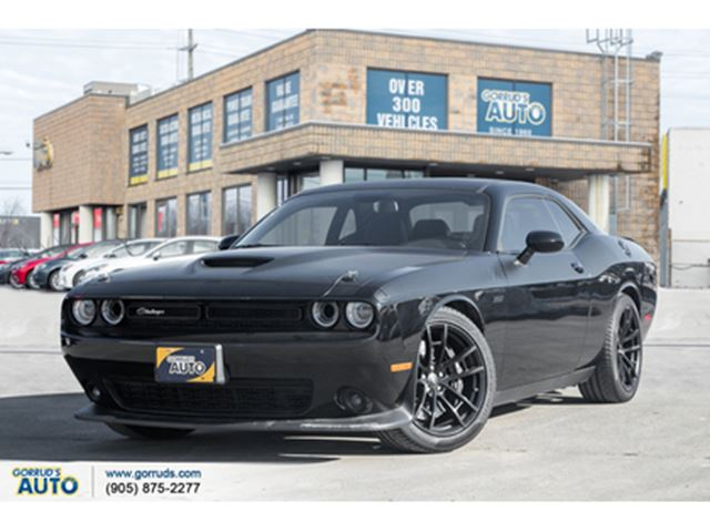 2017 Dodge Challenger R/T 392 SCATPACK EDITION   MANUAL TRANSMISSION in