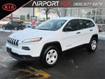 2015 Jeep Cherokee Sport/Heated seats and heated steering/ in Mississauga, Ontario