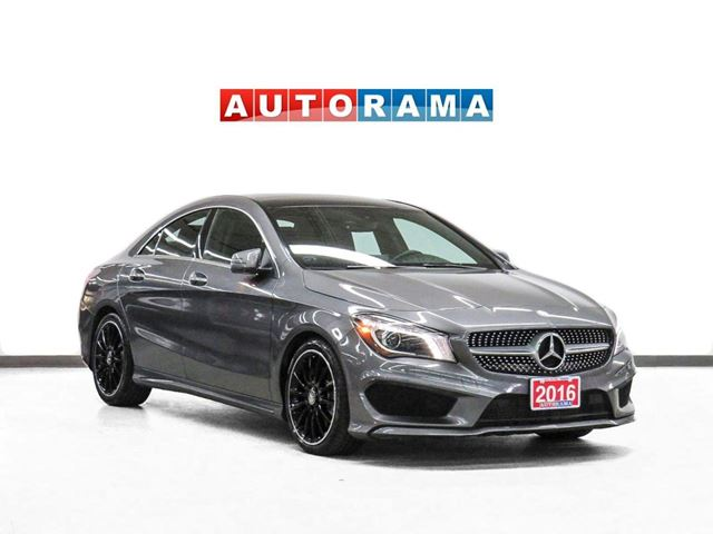 2016 Mercedes-Benz CLA250 Sport Pkg AWD Navigation Leather Sunroof in