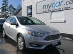 2018 Ford Focus Titanium LEATHER, SUNROOF, HEATED SEATS, BACKUP CAM!! in North Bay, Ontario