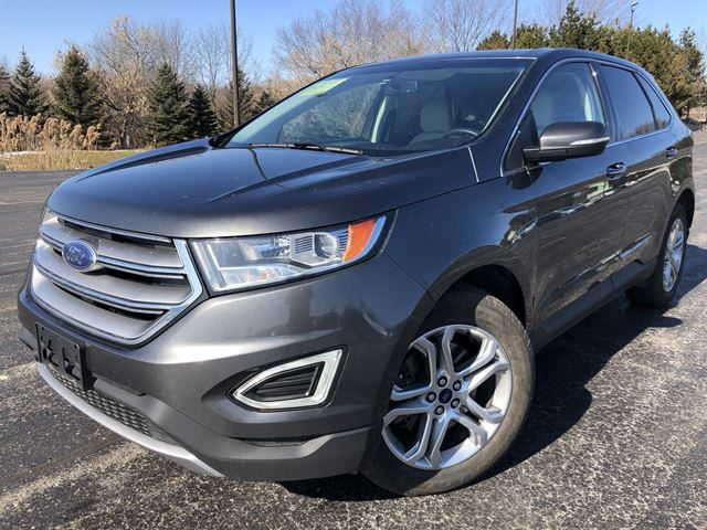2017 FORD Edge TITANIUM in Cayuga, Ontario