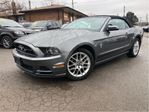 2013 Ford Mustang 2dr Conv V6 Premium Leather Interior in St Catharines, Ontario