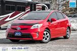 2013 Toyota Prius 5 Door|Hatchback|Backup Cam|Keyless|Low KM in Toronto, Ontario