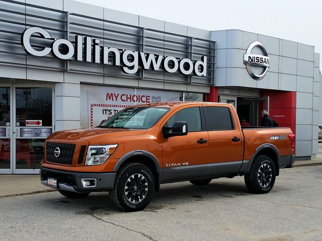 2019 NISSAN Titan GAS PRO-4X LUXURY *NEW* in Collingwood, Ontario