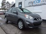 2017 Nissan Micra SV BLUETOOTH, A/C, LOW KM'S!!!! in North Bay, Ontario