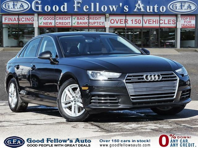 2017 AUDI A4 QUATTRO, LEATHER & POWER & HEATED SEATS, PAN ROOF in North York, Ontario