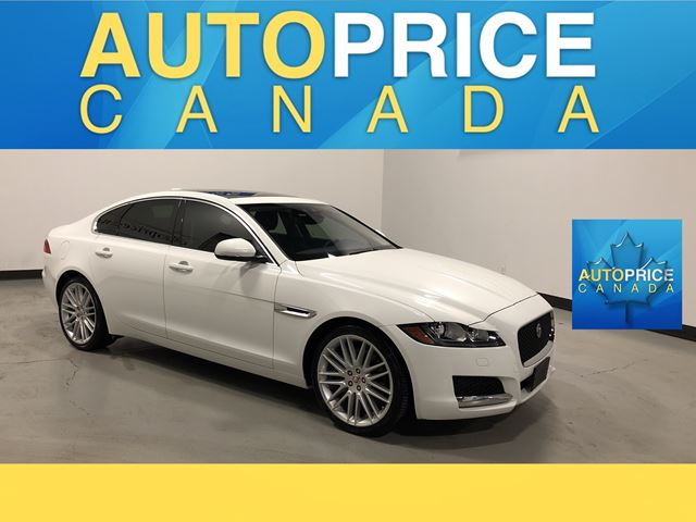 2017 JAGUAR XF 35t Prestige NAVIGATION PANOROOF LEATHER in Mississauga, Ontario