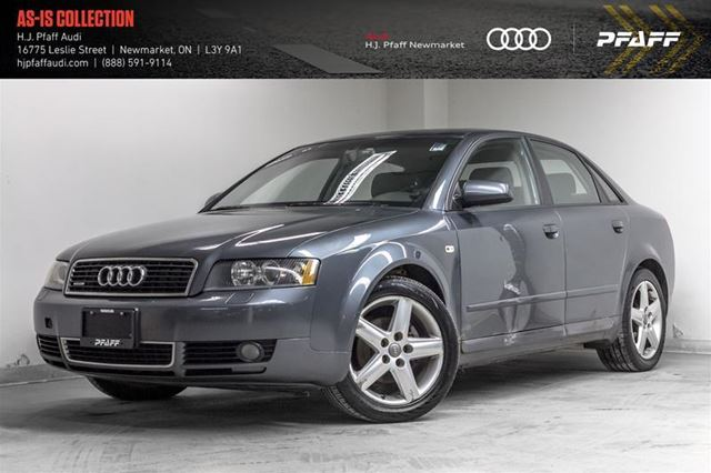 2005 AUDI A4 1.8T in Newmarket, Ontario