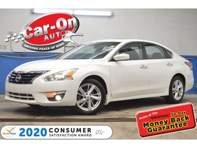 2014 NISSAN ALTIMA 2.5 SV SUNROOF REAR CAM HTD SEATS LOADED in Ottawa, Ontario