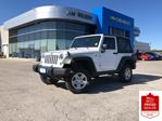 2016 Jeep Wrangler 4X4 V6 MANUAL AIR CRUISE CONTROL CD in Orillia, Ontario