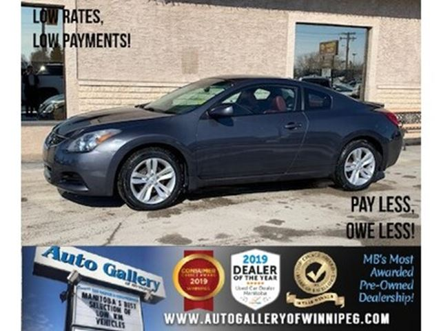 2012 NISSAN ALTIMA S *Heated Leather/Roof/Coupe in Winnipeg, Manitoba