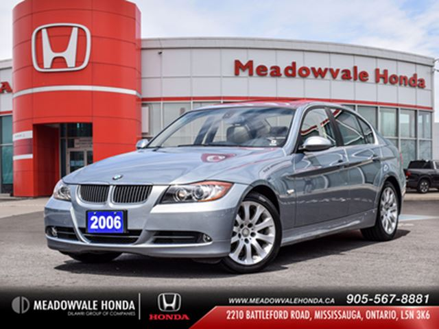 2006 BMW 3 SERIES Navi   Leather Seats in Mississauga, Ontario