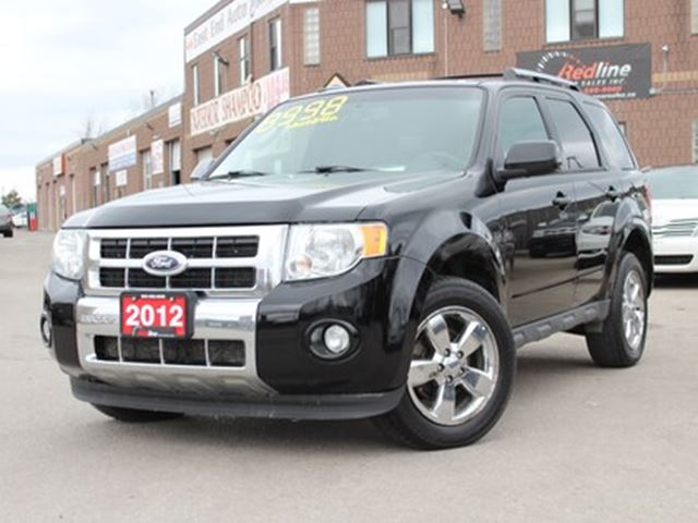 2012 Ford Escape 4WD V6 Limited Bluetooth-Sunroof-Leather in