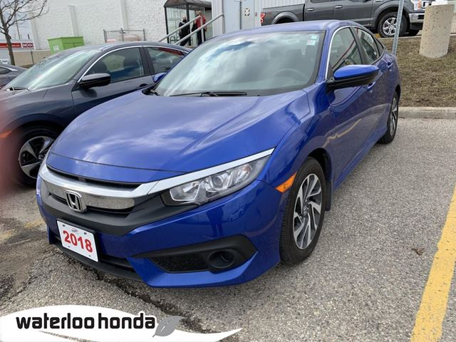 2018 Honda Civic SE Beautiful One Owner Civic SE Leased New Right Here at Waterloo Honda! Certified Powertrain Warranty  in