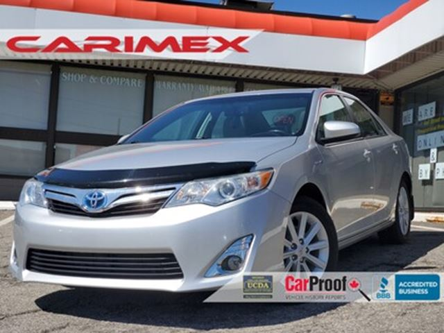 2013 TOYOTA CAMRY Hybrid XLE NAVI   Suede Leather   Sunroof in Kitchener, Ontario