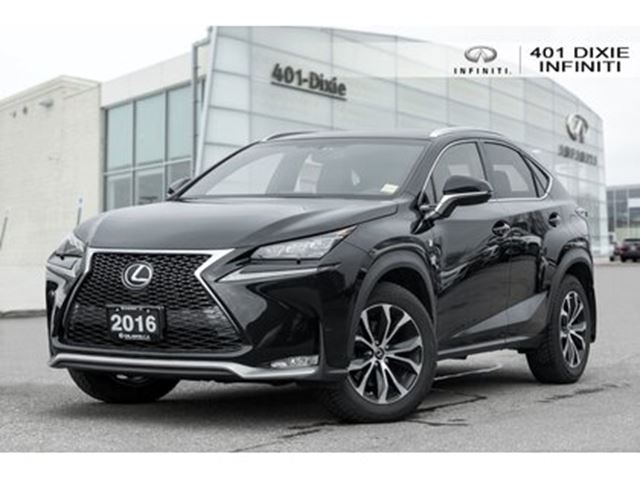 2016 LEXUS NX 200T 6A F SPORT - RED LEATHER - LOW KMS - 1 OWNER in Mississauga, Ontario