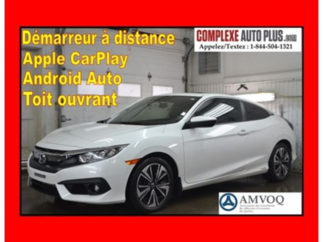 2017 Honda Civic Coupe EX-T 1.5T *Toit ouvrant,Mags,CarPlay,Caméra in Saint-Jerome, Quebec