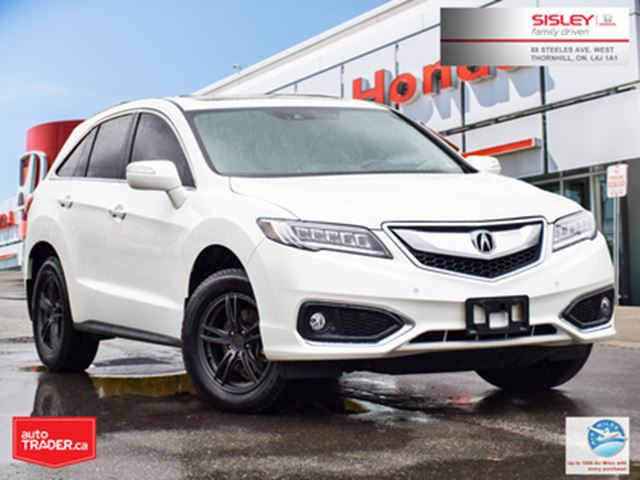 2018 ACURA RDX Elite   AWD   NO ACCIDENTS   1-OWNER   LOW KMS in Thornhill, Ontario