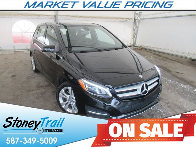 2015 MERCEDES-BENZ B-CLASS Sports Tourer 4MATIC - ONE OWNER / NO ACCIDENTS in Calgary, Alberta