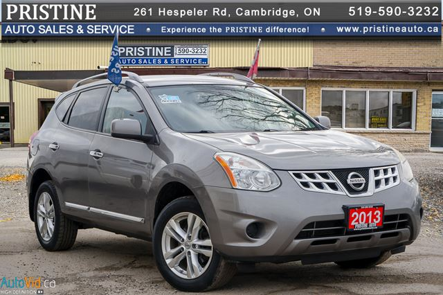 2013 NISSAN ROGUE SV Only 120 km Remote Stater Bluetooth Rev. Cam. Nissan Serviced  in Cambridge, Ontario