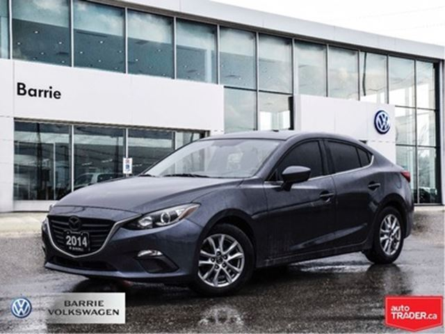 2014 MAZDA MAZDA3 GS-SKY Manual Bluetooth Back up Camera in Barrie, Ontario