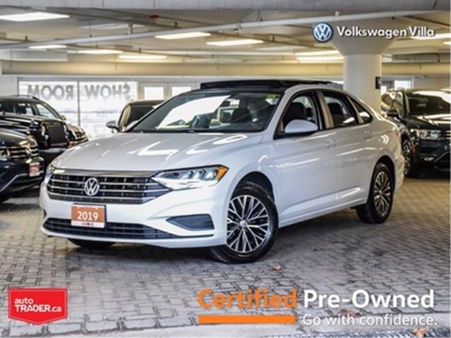 2019 VOLKSWAGEN JETTA HIGHLINE - DRIVERS ASSIST PACKAGE - NO ACCIDENT in Thornhill, Ontario