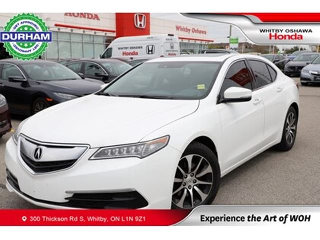 2016 ACURA TLX w/Technology Package in Whitby, Ontario