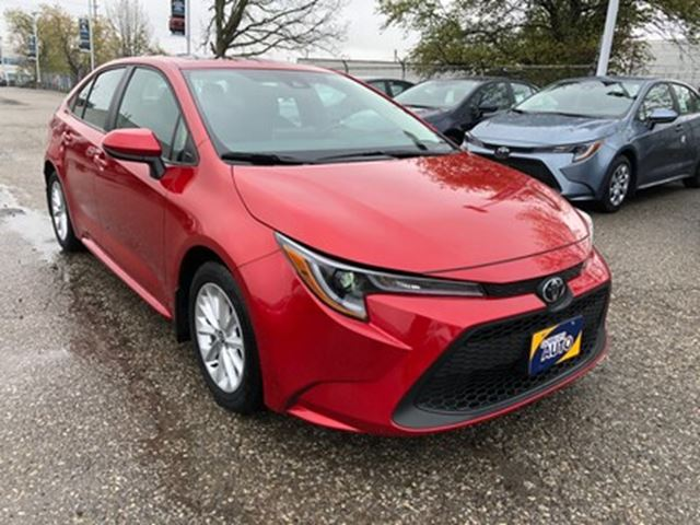 2020 TOYOTA COROLLA LE LE UPGRADE PACKAGE   SUNROOF   TOYOTA SAFETY SE in Milton, Ontario