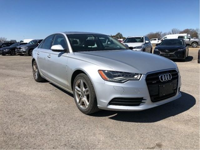 2013 AUDI A6 2.0T Prem 8sp Tip Qtro Sdn NAVI LEATHER ROOF in Ottawa, Ontario