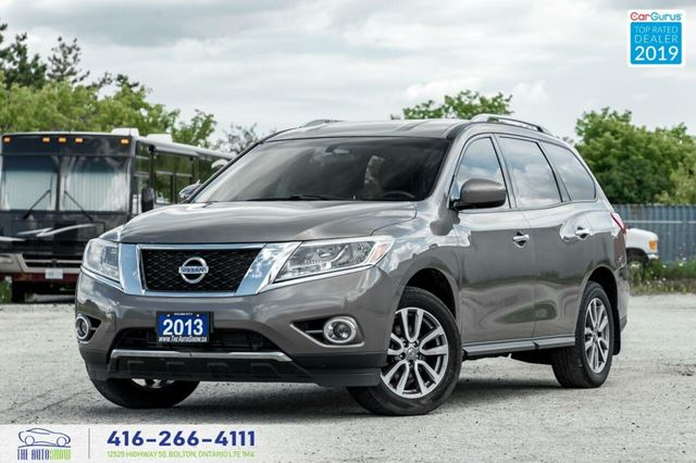 2013 NISSAN PATHFINDER SV|Leather|Backup Cam|Htd Seats|Keyless Entry in Toronto, Ontario