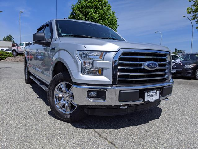 2016 Ford F-150 XL  XTR PACKAGE / LONG BOX / TOP SAFETY SCORES  in Surrey, British Columbia
