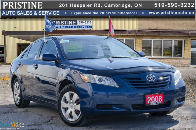 2008 TOYOTA CAMRY LE Two Owners Rust Free in Cambridge, Ontario