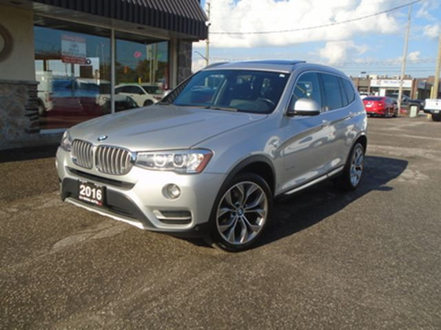 2016 BMW X3 AWD 4dr xDrive28i NAVIGATION PANORAMIC B-CAMERA SE in Oakville, Ontario