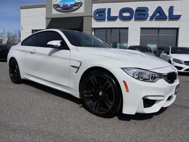 2016 BMW M4 Coupe 425 hp and 406 lb-ft 3.0 L TWIN TURBO. in Ottawa, Ontario