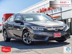 2017 Honda Civic LX   1-OWNER   NO ACCIDENTS   SISLEY ORIGINAL in Thornhill, Ontario